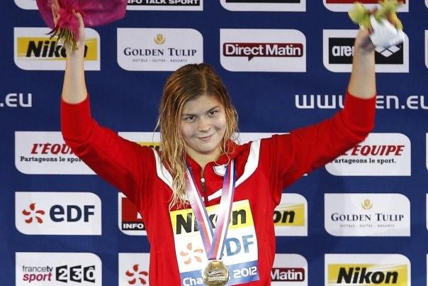 danmark ol guld svømning
